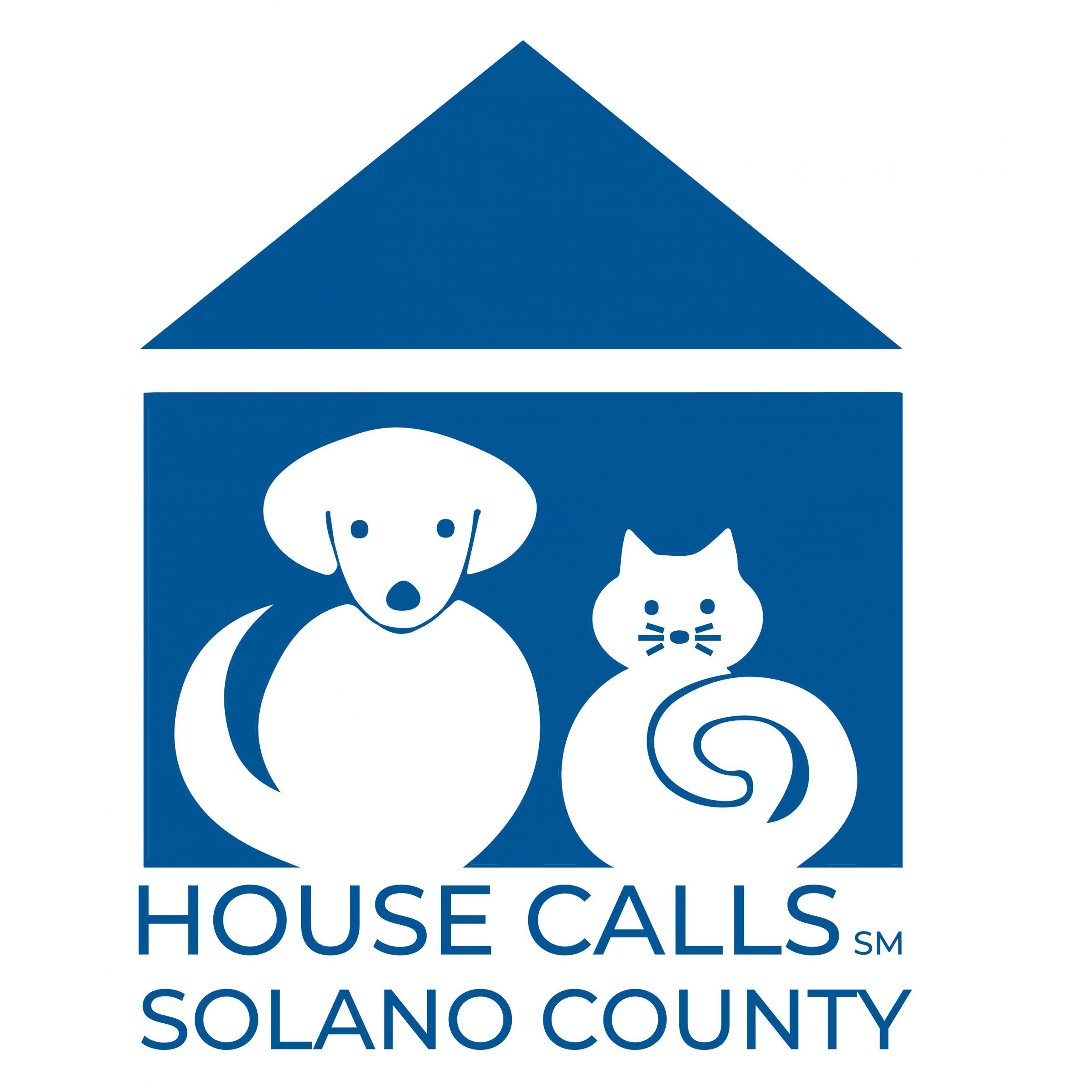 House Calls Pet Sitting Solano Logo